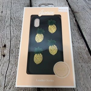 Sonix Embroidered Pineapple IPhone X Case NWT